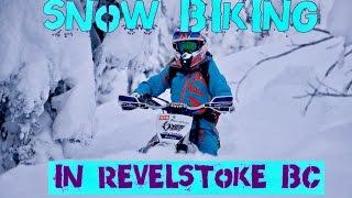 Snow Biking in Revelstoke, BC *FULL LENGTH*