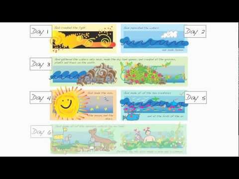 Creation Story For Kids ▶ Creation For Kids Genesis