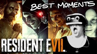 (MONTAGE) Scariest Moments of RE7 Biohazard in PSVR!