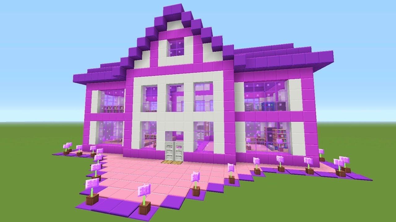Видео майнкрафт как сделать дом видео