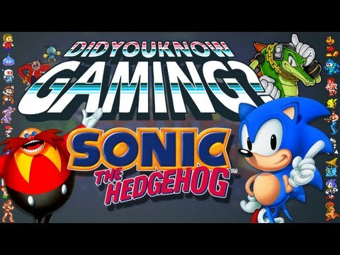 Sonic - Did You Know Gaming? Feat. WeeklyTubeShow Music Videos