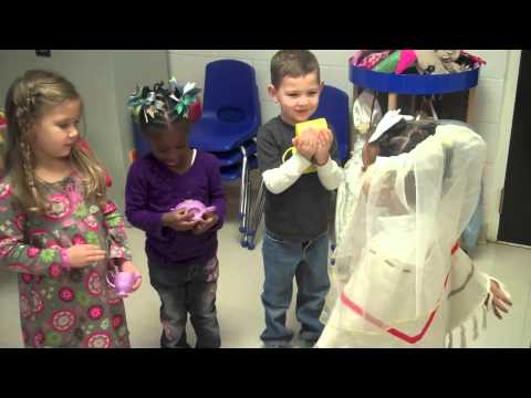 Three Year Old Preschool Nativity Play Lesson - Episcopal Day School, Augusta GA