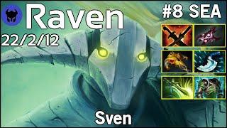 Raven [LOTAC] plays Sven!!! Dota 2 7.21