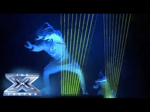 Finale: The Laser Dance - THE X FACTOR USA 2013