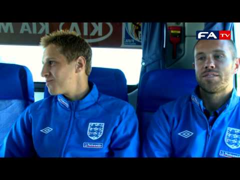 Michael Dawson and Matthew Upson return from the SOS Children's Village