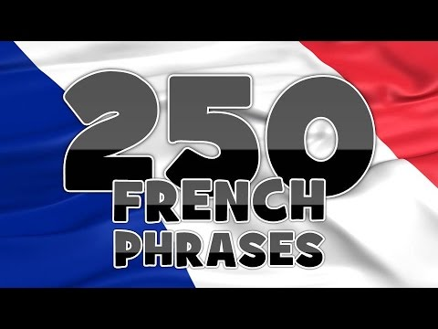 Learn 250 phrases before you travel to France