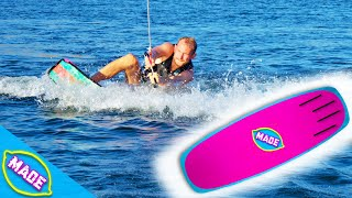 We Made Our Own DIY Wakeboard and Tested It!! | Will We Stand?!