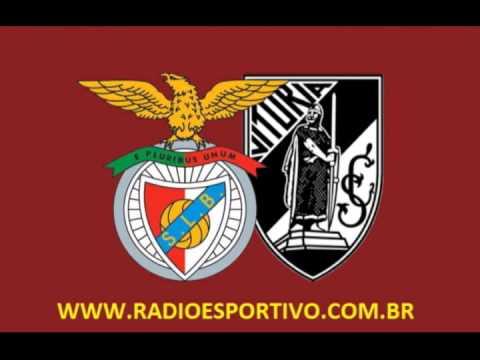 Benfica 3 x 0 Vitória de Guimarães - Relato de Nuno Matos (  Homenagem ao Rei Eusébio ) 10/01/2014