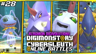 Digimon Story  Cyber Sleuth Online Battles 28   39  39 Keramon Digivolutions Evolutions Team 39  39