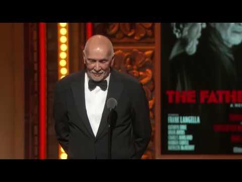 Acceptance Speech: Frank Langella - Best Leading Actor in a Play (2016)