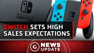 Nintendo Switch To Sell 40 Million By 2020? - GS News Update