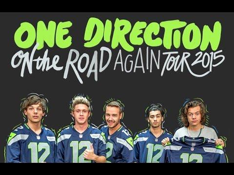 One Direction OTRA Tour July 15, 2015 Seattle, WA Promo