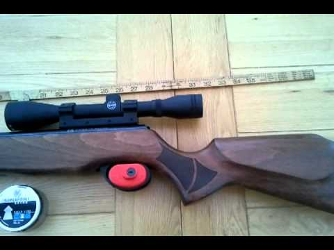Cometa Fenix 400 Carbine Air Rifle Walnut Stock H&N  .22 Pellets