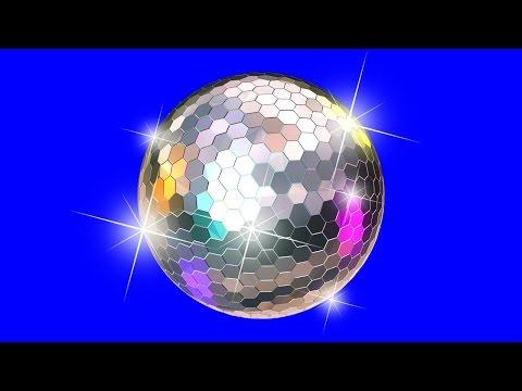Диско Шар. Зеркальный Шар. Disco Ball. Диско Шар на Хромакее. Футажи на Хромакее