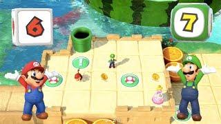 Super Mario Party - Watermelon Walkabout (Mario/Luigi vs Donkey Kong/Diddy Kong)   MarioGamers