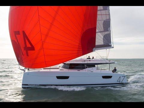 Fountaine Pajot Saona 47 sailing catamaran | Walk-through
