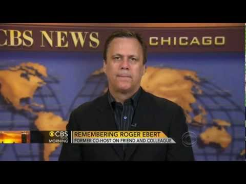 Richard Roeper Talks about Roger Ebert's Death, Legendary Critic - 4/5/13
