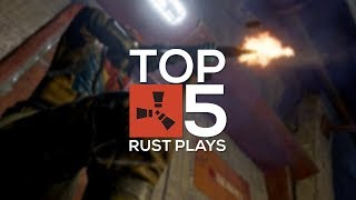 Top 5 Rust Plays (Top 10) - INSANE KILLING SPREES! (Solos vs. Clans)