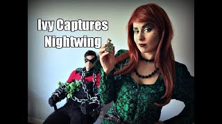 Nightwing and Poison Ivy Celebrate the Spring Equinox