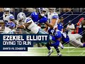Ezekiel Elliott Scores 1st Career TD After Brandon Carr's Nic...