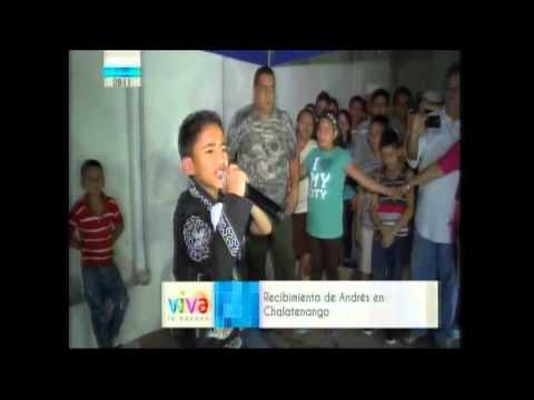 Recibimiento De Andrés Escobar En Chalatenango