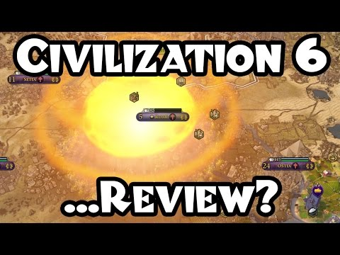 Civilization VI: My First Deity Game -- A Post Mortem / Review