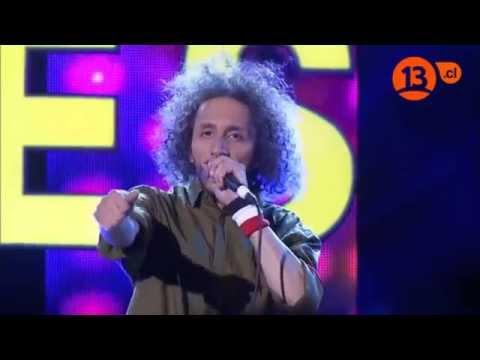Zack de la Rocha,imitador chileno-Mi nombre es-canal 13 chile,2014