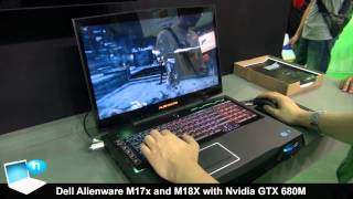 Dell Alienware M17X M18X with Nvidia GTX 680m