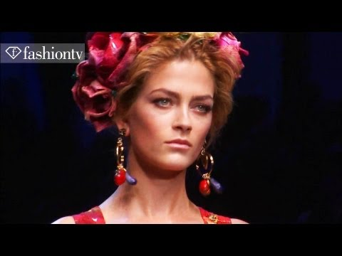 Dolce & Gabbana Full Runway Show - Milan Fashion Week Spring 2012 MFW | FashionTV - FTV