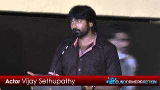 Soodhu Kavvum - [sound camera action] Vijay Sethupathi at Soodhu Kavvum Movie Audio Launch