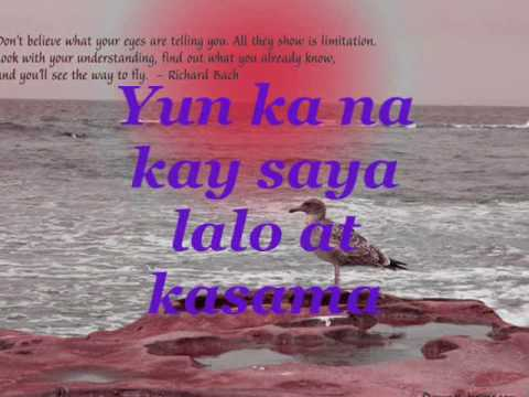☺☺♥♥♥  Yun Ka  W  Lyrics By Willie Revillame ♥♥♥☺☺ video
