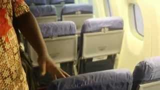 Water Leakage Inside Nigerian Plane While Raining