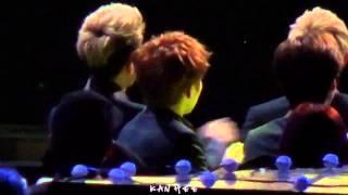 [EXO-SNSD's FanBoy] 140212 Sehun & Xiumin during I Got A Boy - Gaon Chart K-Pop Awards