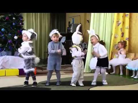 Танцы на новый год в детском саду для мальчиков