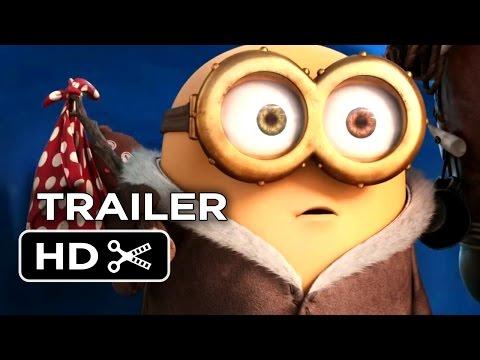 Minions Official Trailer #1 (2015) - Despicable Me Prequel Hd video