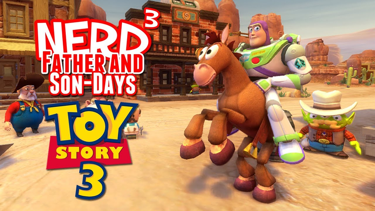 Witch Toy Story 3 Games : Nerd³ s father and son days toy story the video game