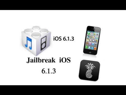 How To Jailbreak iOS 6.1.3 iPhone 4 /3GS /iPod Touch 4g