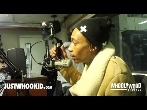 Wiz Khalifa Vs. DJ Whoo Kid: Talks Smoking Weed & Falling Asleep At The Grammys, His 'We Dem Boyz' Single, 'Blacc Hollywod' Album, 'High School 2' Movie With Snoop Dogg [