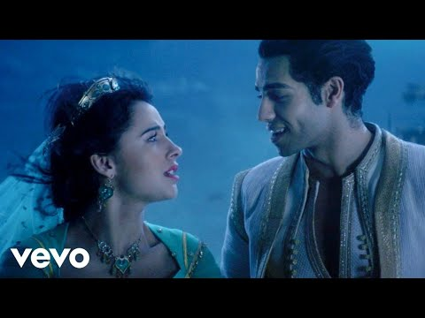 "Mena Massoud, Naomi Scott - A Whole New World (From ""Aladdin"") #1"