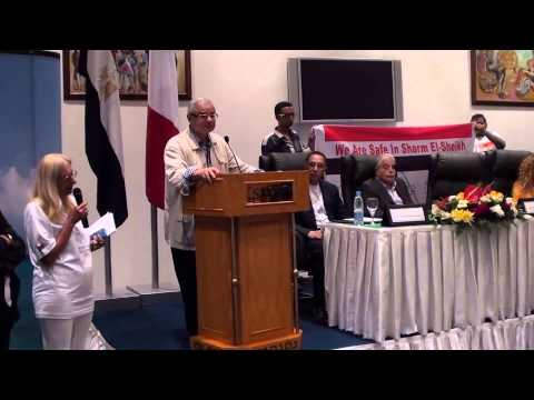 Speech of The Egyptian Tourism Minister  Mr  Hisham Zaazou  in Sharm El Shiekh - September 7, 2013