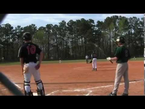 Hit Parade of Northwood Academy Batters Vs Faith Christian on 4-3-14.avi