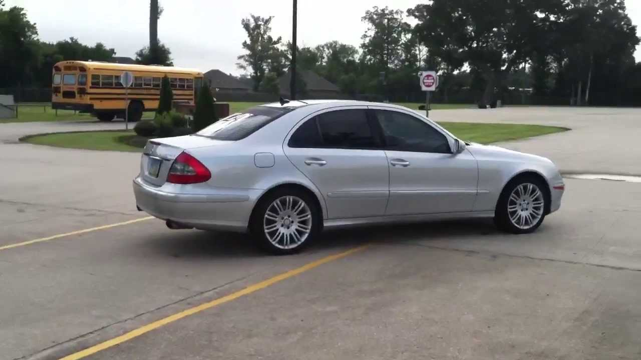 2008 Mercedes E350 4matic W Panoramic Roof Youtube