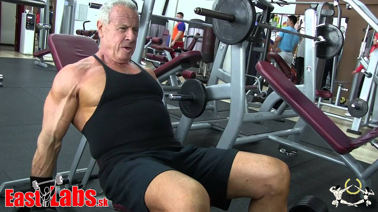 Dion Friedland 70 Year Old Bodybuilder From South Africa