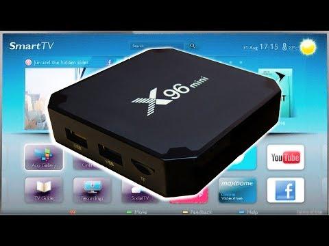 ТВ бокс X96 Mini - 800+ каналов и HD видео за 20$. Моя инструкция по настройке.