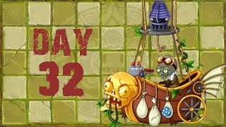 [Android] Plants vs. Zombies 2 - Lost City Day 32 BOSS