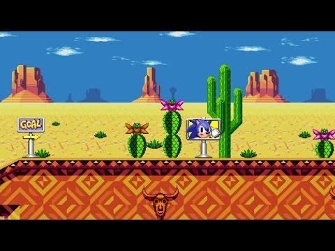 Unused Desert Dazzle Zone : Mirage Saloon? Sprite animation