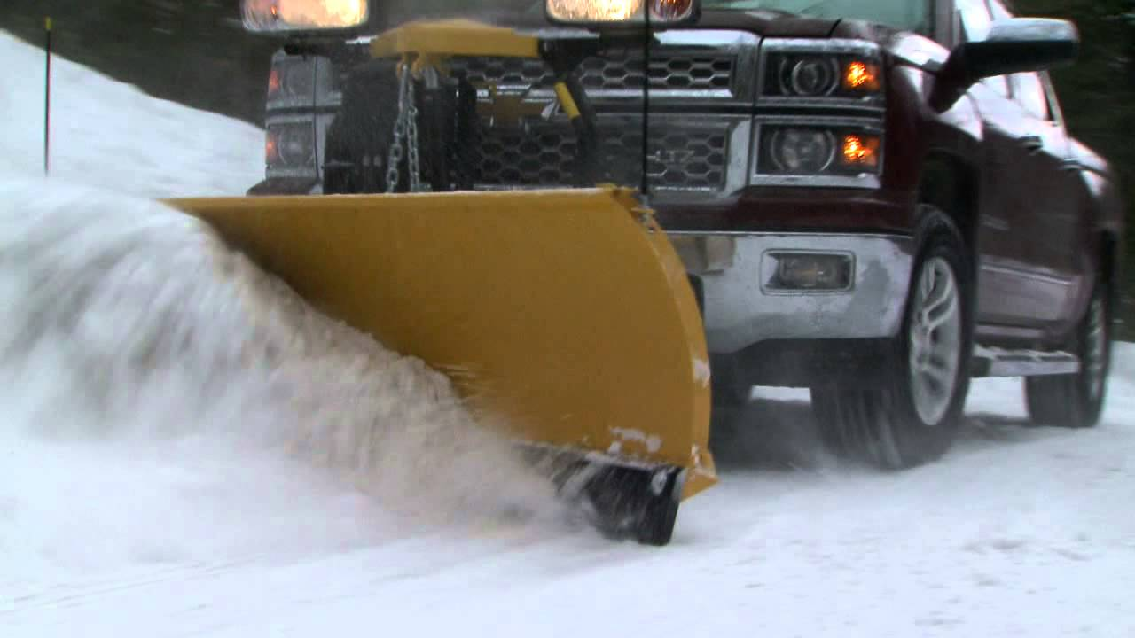 Fisher Snowplows - SD Series Snow Plow - YouTube
