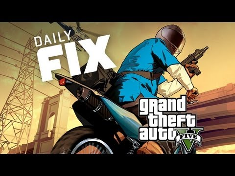 Hot Grand Theft Auto V Artwork, Bethesda's New Game & Minecraft Seasons? - IGN Daily Fix 04.16.13