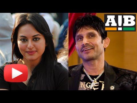 AIB Knockout: KRK Calls Sonakshi Sinha A Hypocrite