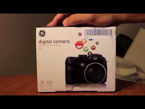 GE Digital SLR Camera X5 14mp Review